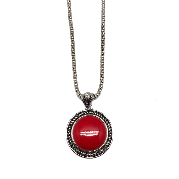 Circle Of Life Pendant & Chain Necklace - Assorted Colors
