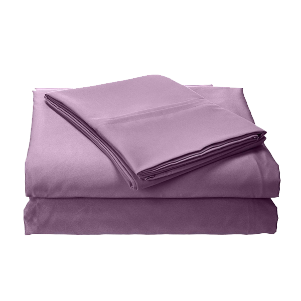 Wrinkle Resistant 300 Thread Count Bed Sheet Set - 4 Sizes Available