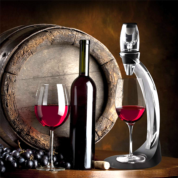 Luxe Wine Decanter & Aerator Gift Set