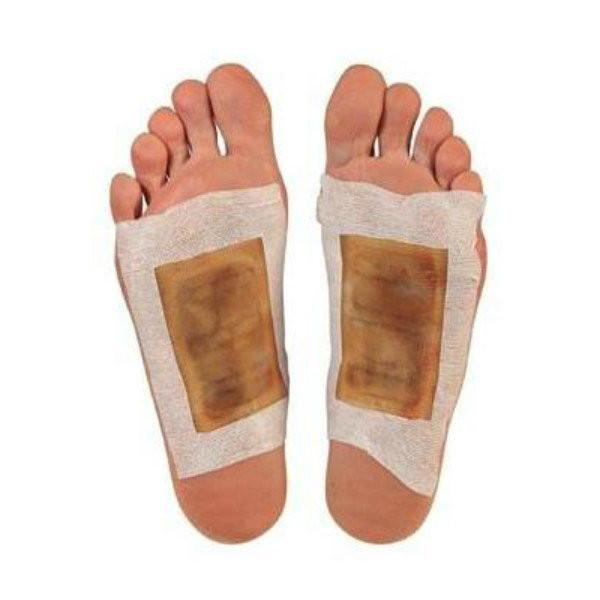 All Deals - 10 Packs: Detox Foot Pads Organic Herbal Cleansing