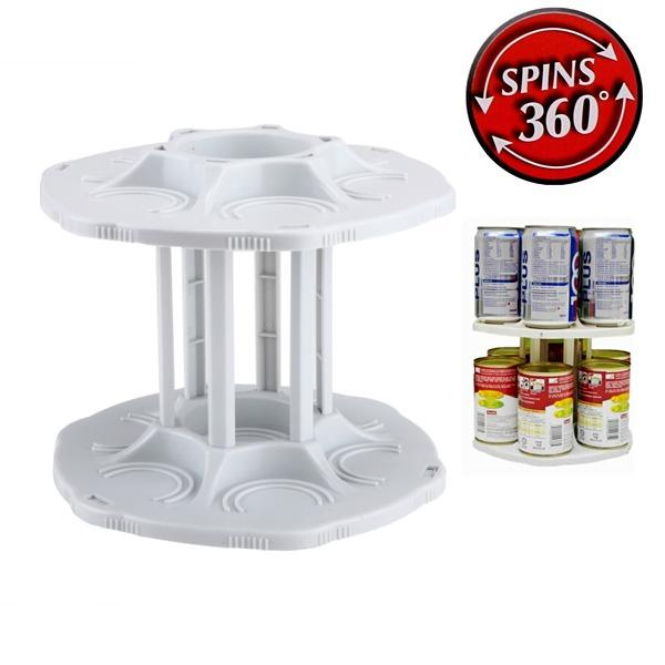 All Deals - 360 Degree Can Carousel Organizer