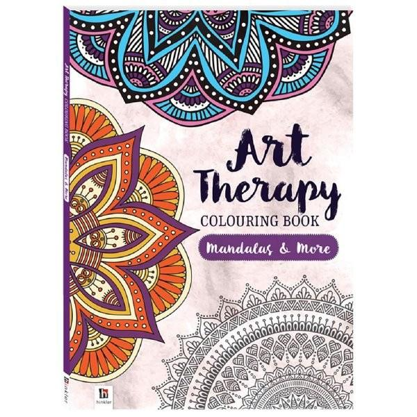 All Deals - Art Therapy Colouring Book Mandalas & More