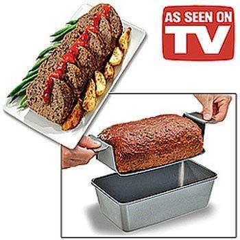 All Deals - As Seen On TV - Perfect Meatloaf Loaf Pan Set