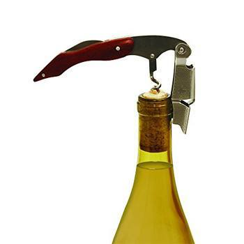 All Deals - Double Hinged Corkscrew Bottle Opener
