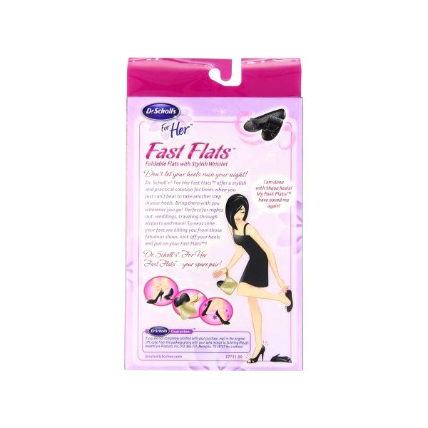All Deals - Dr. Scholl's Fast Flats Sizes 5-6