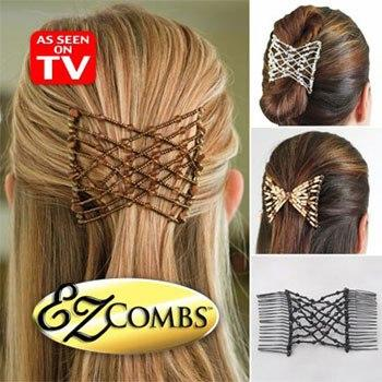 All Deals - EZ Combs Stretchable Double Combs