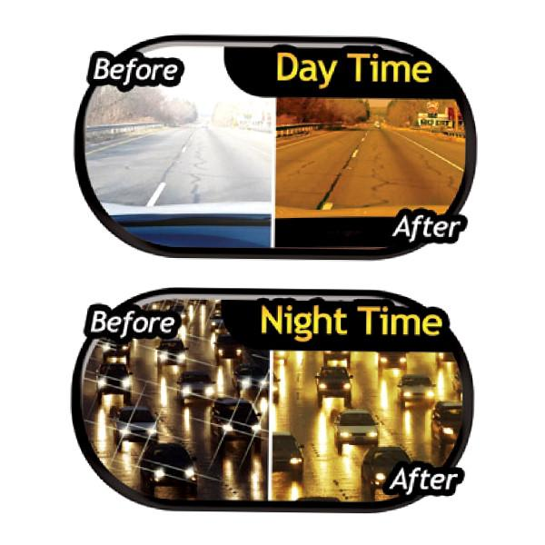All Deals - HD Day And Night Anti-Glare Vehicle Visor