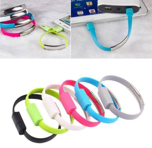 All Deals - Micro USB Charging Cable Bracelet