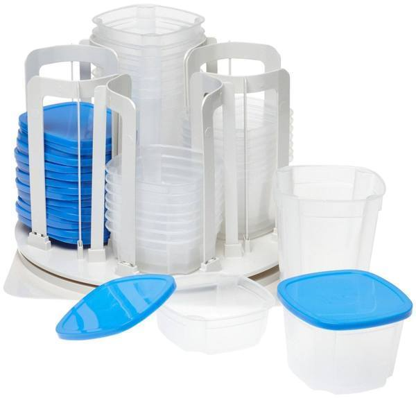 Limited Time Offer! 49-Piece Food Storage & Container Carousel Set