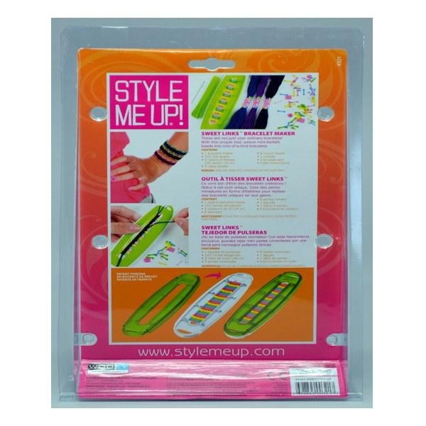 All Deals - Style Me Up! Sweet Links Woven Bracelet Maker Kit