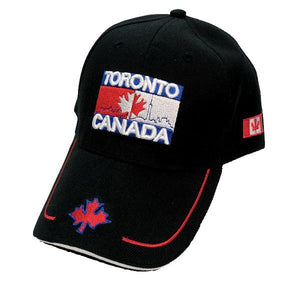 Apparel - Canada Limited Edition Toronto Skyline Stitched & Embroidered Baseball Cap