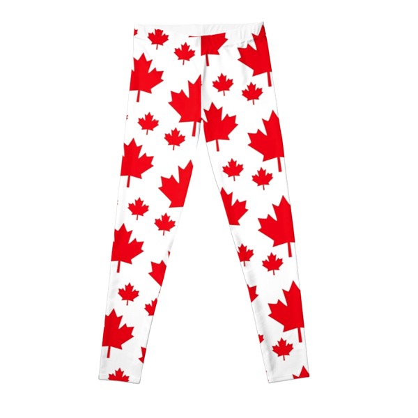 Apparel - Canadian Maple Leaf Leggings