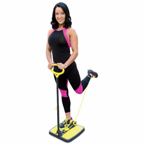 As Seen On TV - Booty-Max Multi-Directional Resistance Technology Workout Kit