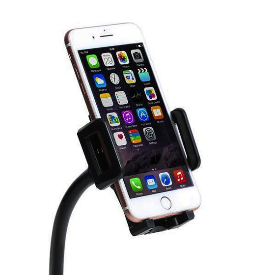 Automotive - 360 Degree Rotating Gooseneck Car Cup Phone Holder