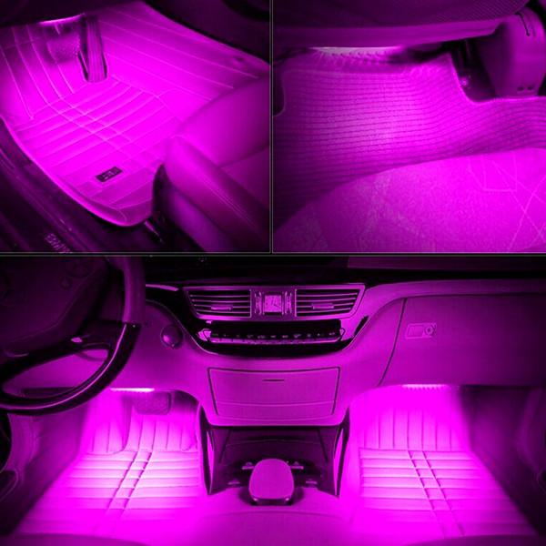 atmospheric rgb car interior lighting system with remote control deals club canada