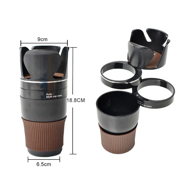 Automotive - Automotive 5-in-1 Multipurpose Cup Holder & Instant Storage Organizer