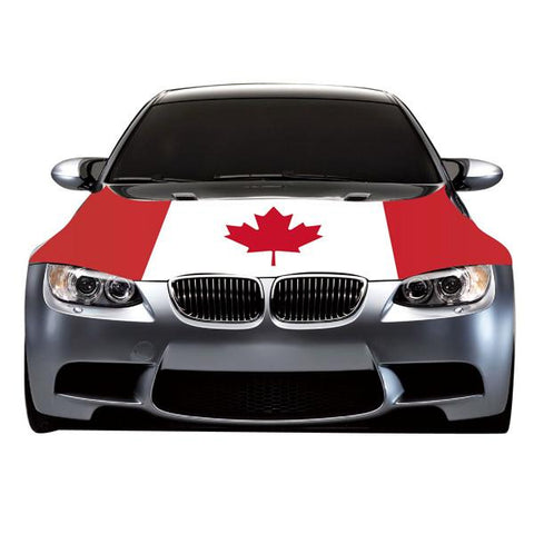 Automotive - Canadian Flag Car Hood Cover