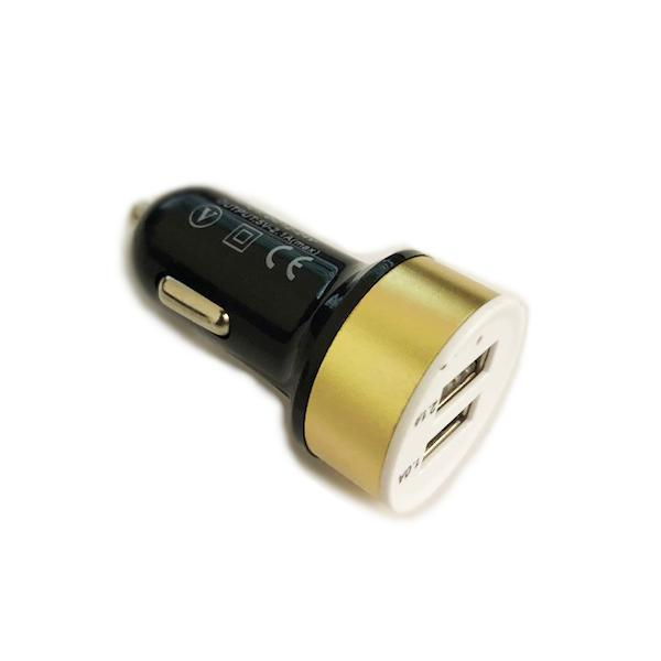 Automotive - Dual USB Car Charger - Available In 2 Colours!