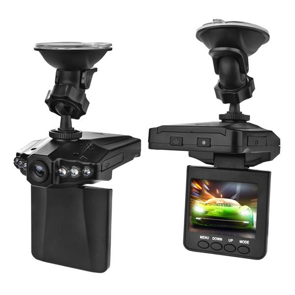 "Automotive - Portable HD Car Dash Camera DVR System With 2.5"" Screen"