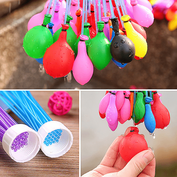 5 Pack: Rapid-Fill Magic Water Balloons