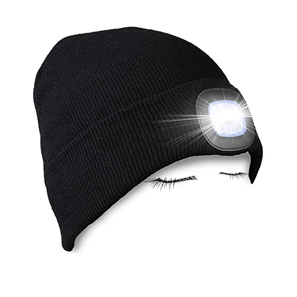 Rechargeable Lighted Beanie