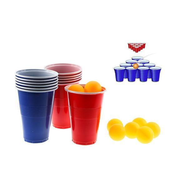 Beer-Pong Balls Classic Drinking Game Set - 2 Styles Available!