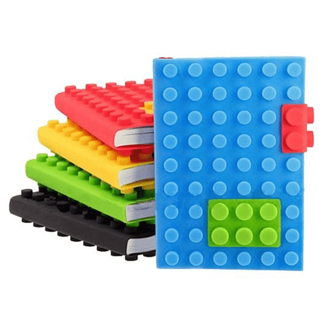 Creative Silicone Blocks Notebook