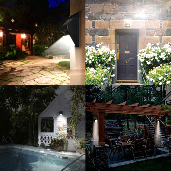 Weather Resistant Mountable Motion-Activated Energy Saving Outdoor Light