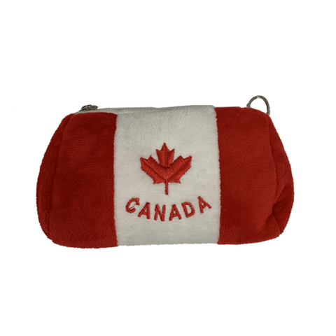 6 Pieces, 12 Pieces, or 24 Pieces Canada Fur Coin Purse