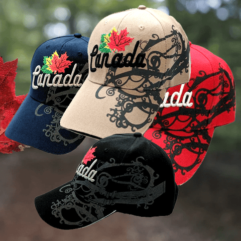Limited Edition Canada Baseball Hats