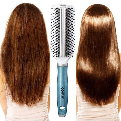 Conair Hair Brush with Argan Oil Treatment Strip