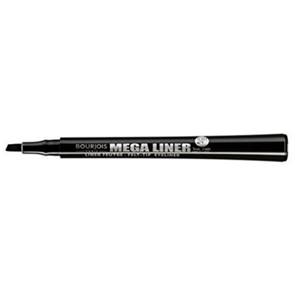 Cosmetics - Bourjois Mega Liner Dark Black