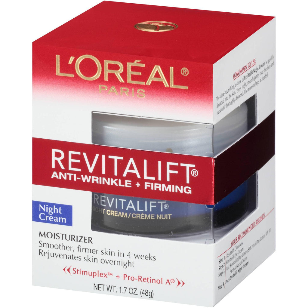 Cosmetics - L'OREAL REVITALIFT Anti-Wrinkle + Firming Night Cream