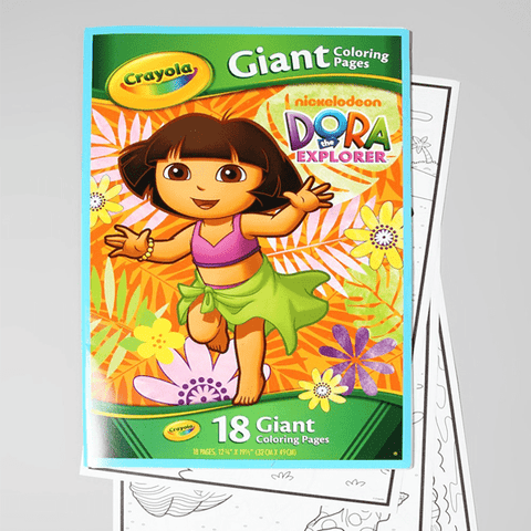 18 Giant Pages Coloring Book