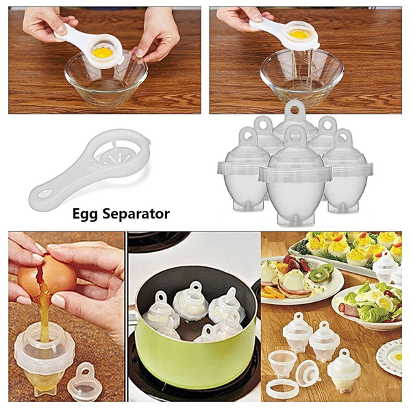 Set Of 6: Egg Boiler Kit