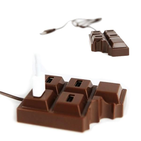 Electronics - 4-Port Chocolate Bar USB Hub