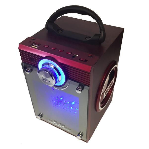 Electronics - LI Battery Powered Portable Speaker With USB/TF/AUX/FM Radio