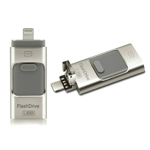 Electronics - Multi-Functional Flash Drive Compatible With IOS / Android / Windows Devices - 16 Or 32GB