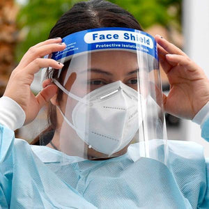 Protective Isolation Face Shield - Multi Packs Available
