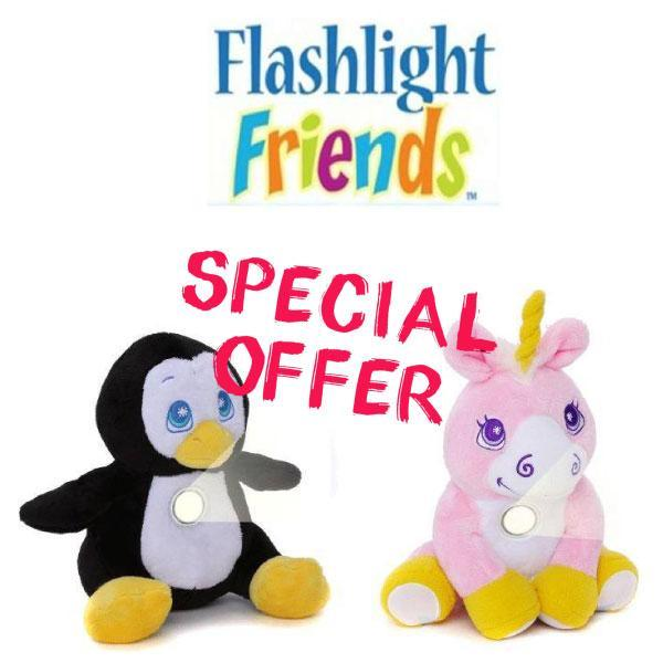 VIP Special - Buy 1 Get 1 Free Flashlight Friends The Huggable Loveable Flashlight!