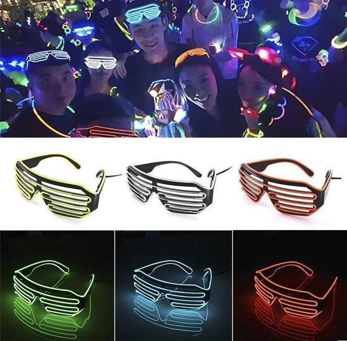 VIP Special Price - Vegas Nights Party LED Disco Glasses""