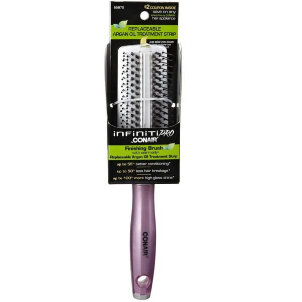 Health And Beauty - Conair Infinity Pro Argan Oil Strip Finishing Brush