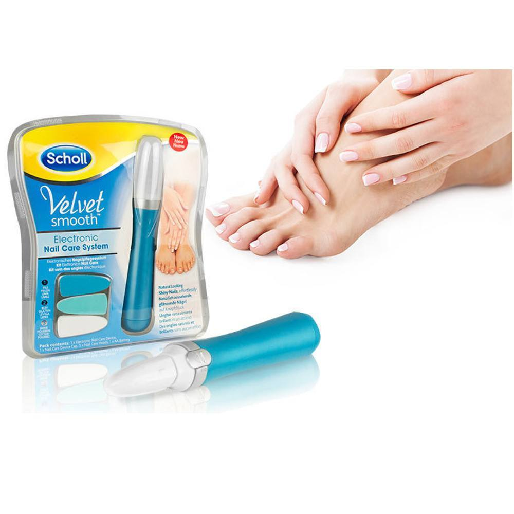 Health And Beauty - Scholl Velvet Smooth Electronic Nail Care System