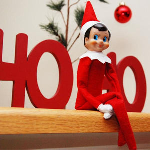 "Holiday - ""Santa's Little Elf"" Holiday Decor Shelf Doll - Assorted Styles"