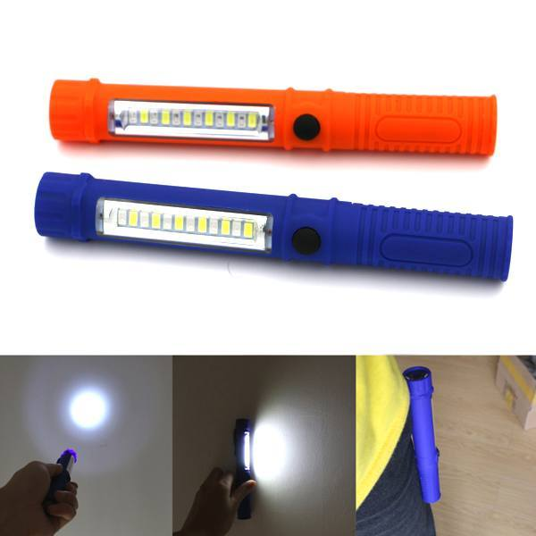 Home - 3-in-1 Military Grade Tactical COB LED Flashlight - 4 Colours Available