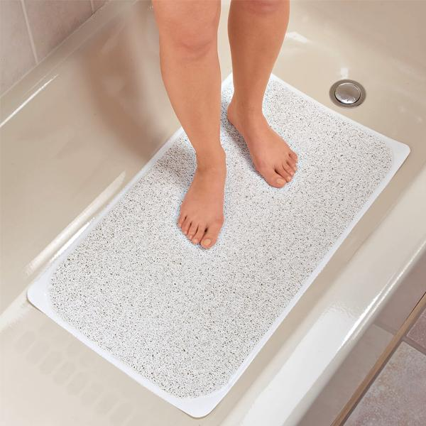 Home - Anti-Microbial Poly-Fiber Non-Slip Hydrating Bath Rug
