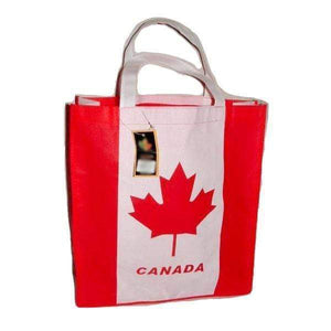 6 Pieces, 12 Pieces, or 24 Pieces Canada Tote-Style Shopping and Carry Bag