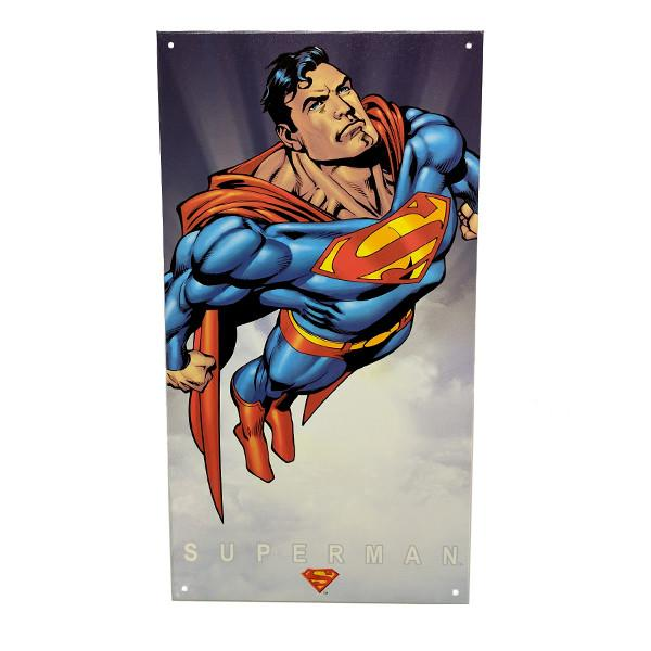 Home - Classic Superman Vintage Collectible Metal Wall Decor Sign