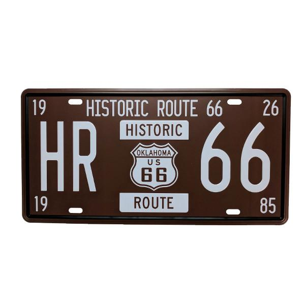 Home - Historic Route 66 Vintage License Plate Wall Decor Sign