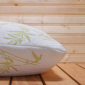 Home - Hypoallergenic Luxury Bamboo Memory Foam Pillow
